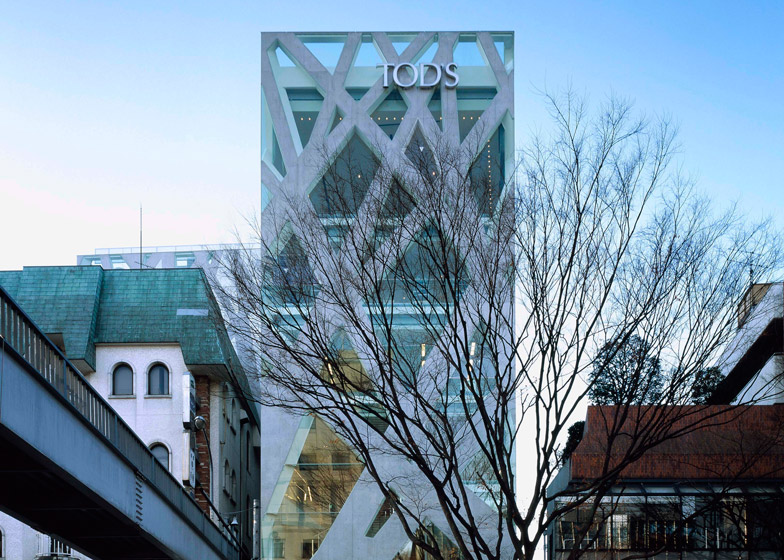 TOD'S Omotesando Building, 2002 - 2004, Tokyo. Photo by Nacasa & Partners Inc.