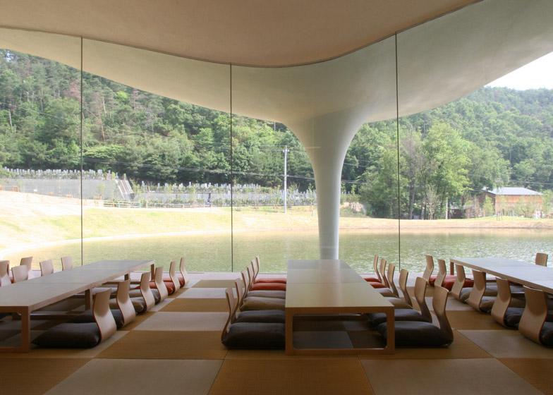 Meiso no Mori Municipal Funeral Hall, 2004 - 2006, Gifu, Japan
