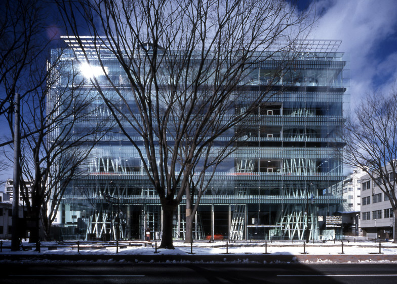 Sendai Mediatheque, 1995 - 2000, Miyagi, Japan. Photo by Nacasa & Partners Inc.