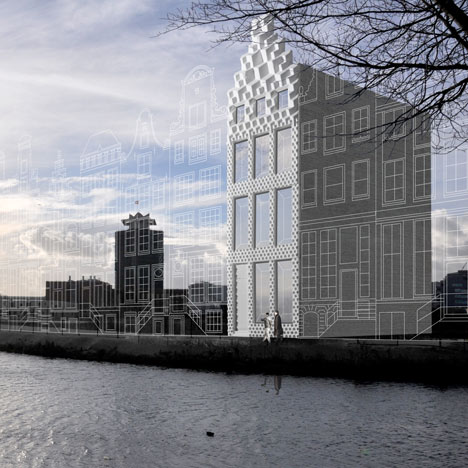 Amsterdam architects plan<br /> 3D-printed canal house