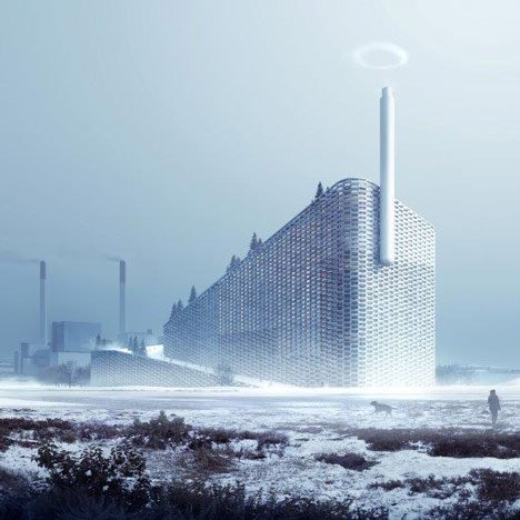 BIG launches Kickstarter campaign for smoke-ring-blowing chimney at Copenhagen power plant
