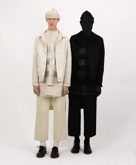 Autumn Winter 2013 collection by Craig Green