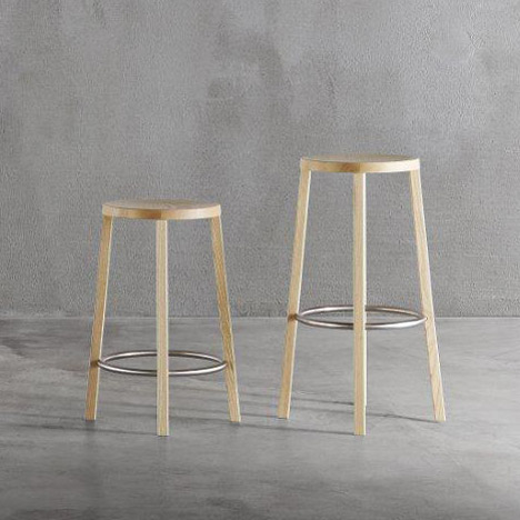 Blocco stool by Naoto Fukusawa