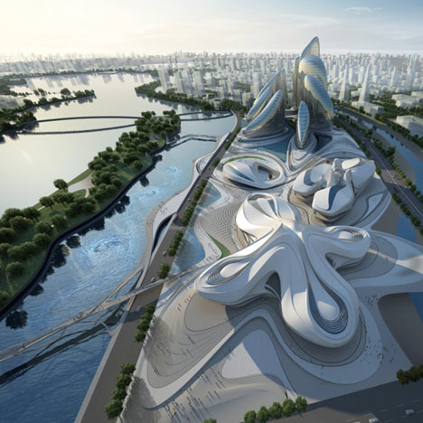 dezeen_Changsha Meixihu International Culture and Art Centre by Zaha Hadid Architects_2sq