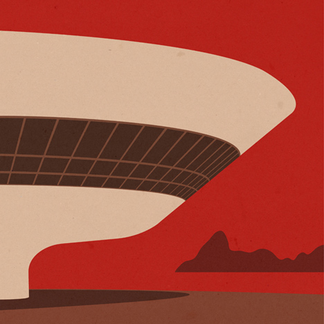 Competition: five architectural illustrations by Andre Chiote to be won
