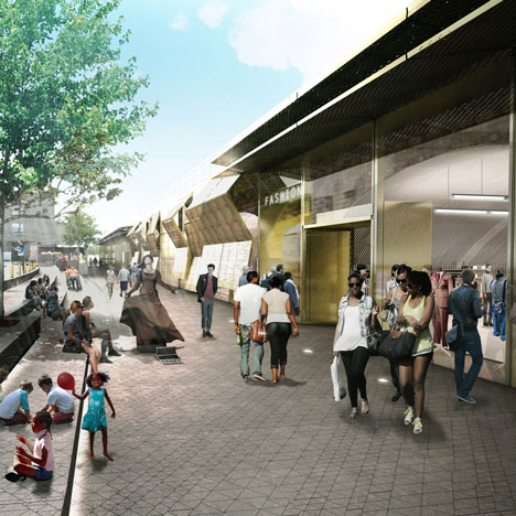 David Adjaye to design fashion outlet in east London