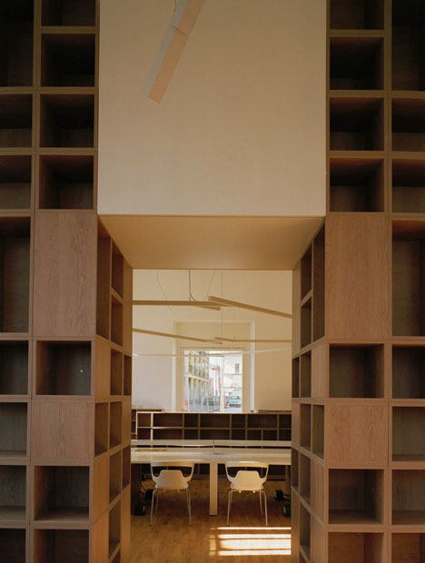 Elsa Morante Library by DAP Studio