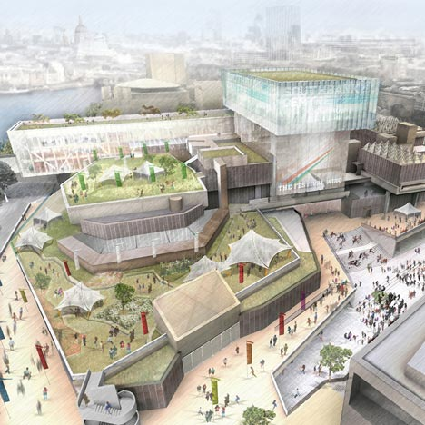 Feilden Clegg Bradley to build glass extension on London's Southbank Centre