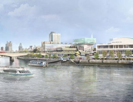 Feilden Clegg Bradley Studios unveils Southbank Centre proposals