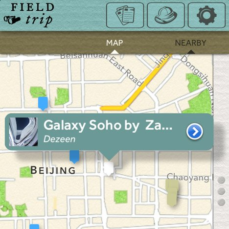 Field Trip app by Google now available for iOS