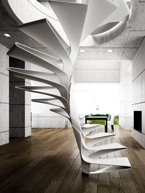 Folio Staircase by Disguincio and