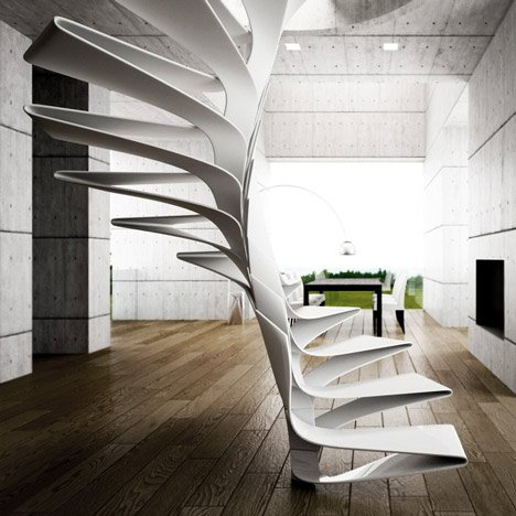Folio Staircase by Disguincio & Co