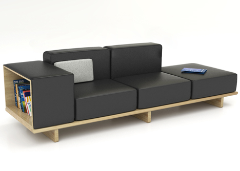 Geta furniture range by Arik Levy for Modus