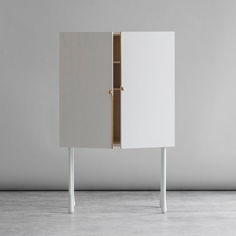 Grand cabinets by Mathieu Gustafsson and Niklas Karlsson
