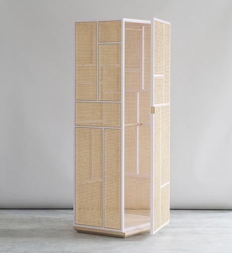 Grand cabinets by Mathieu Gustafsson and Niklas Karlsson
