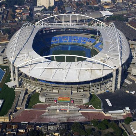 Joao Havelange Olympic Stadium, photo by Ministério das Relações Exteriores Brasil