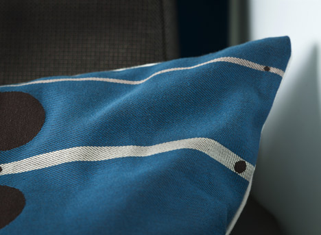 KLM World Business Class cabin by Hella Jongerius