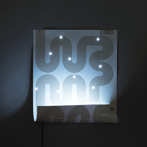 L-INK lamp poster by Jean-Sébastien Lagrange
