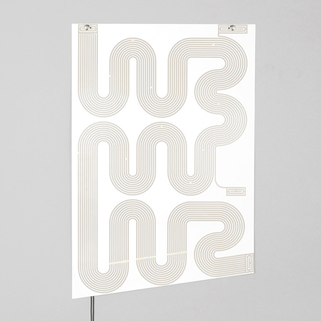 L-INK lamp poster by Jean-Sebastien Lagrange