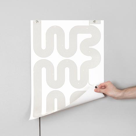 L-INK lamp poster by Jean-Sebastien Lagrange