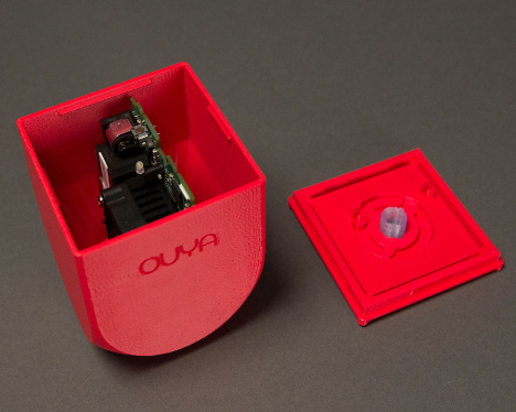 MakerBot lets gamers 3D-print case for OUYA console