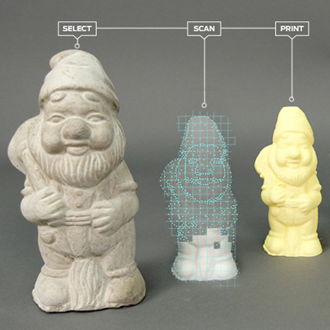 MakerBot reveals prototype desktop 3D scanner