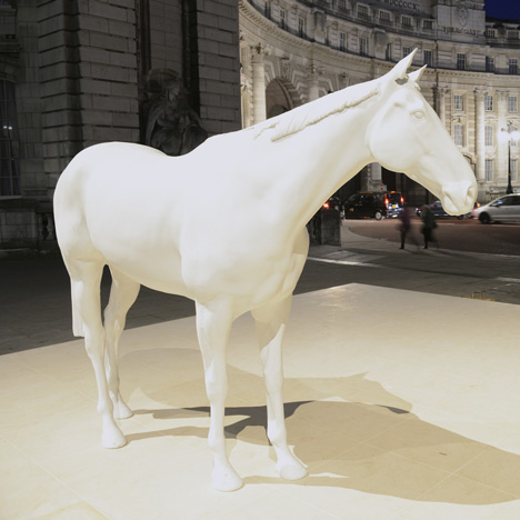London studio creates 3D scan of horse