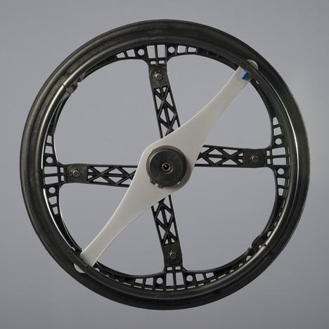 Morph folding wheel by Vitamins Design