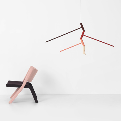 New furniture and lighting collection by Resident