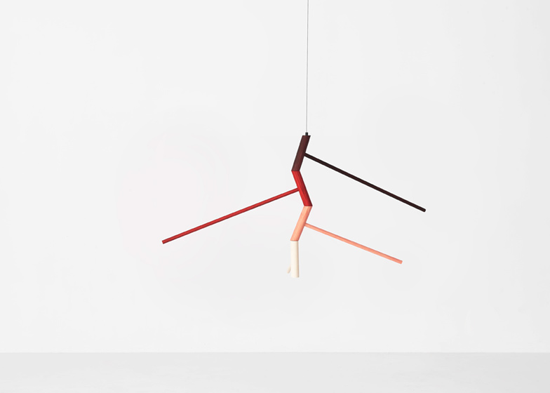 Eccentric Mobile by Jamie McLellan is engineered from four components that rotate independently.
