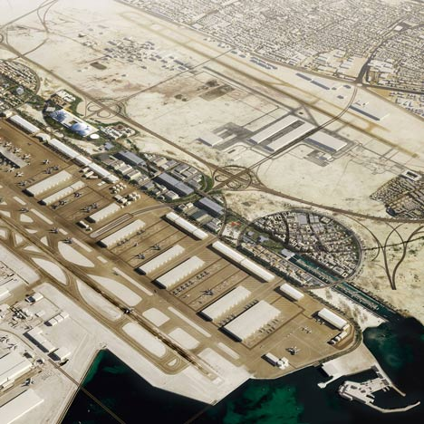 OMA chosen to masterplan Airport City in Doha