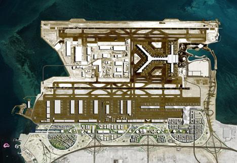 OMA chosen to masterplan Airport City in Doha