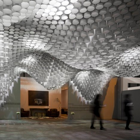 Paper Chandeliers by Cristina Parreño<br /> Architecture and MIT