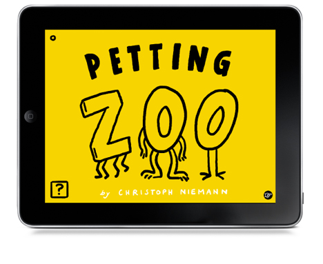 Petting Zoo app by Christoph Niemann