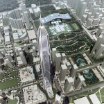 Pingan International Finance Center by Kohn Pedersen Fox