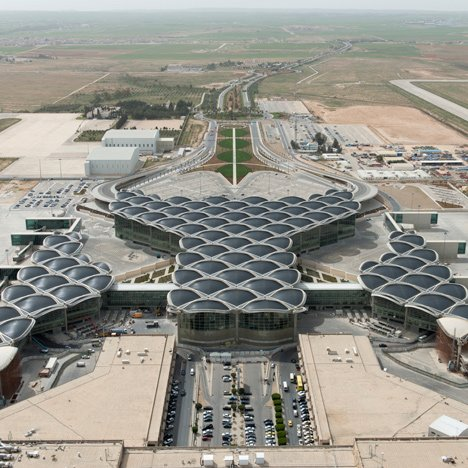 Queen Alia International Airport, Jordan, by Foster + Partners