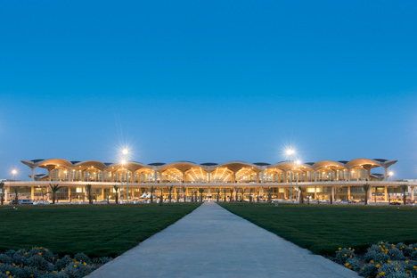 Queen Alia International Airport by Foster and Partners