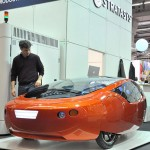RedEye On Demand 3D printed car