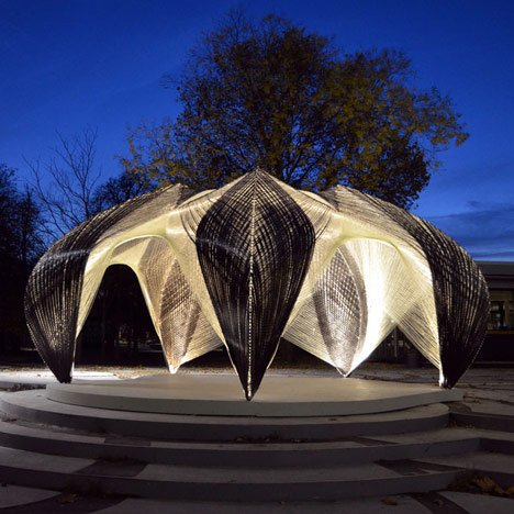 Research Pavilion by<br /> ICD and ITKE