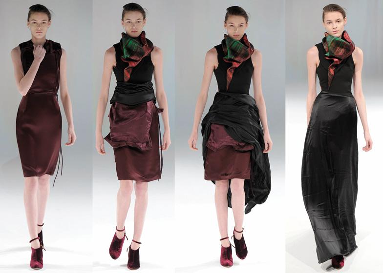 Moda hussein chalayan senhoras na moda Mla winter style fashion set