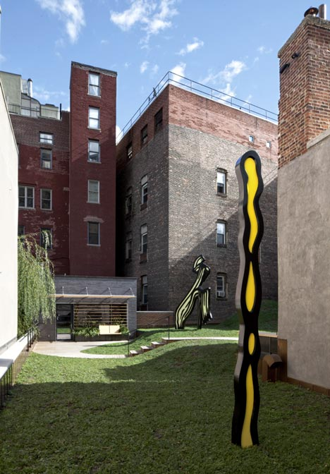 Roy Lichtenstein Residence and Studio by Caliper Studio