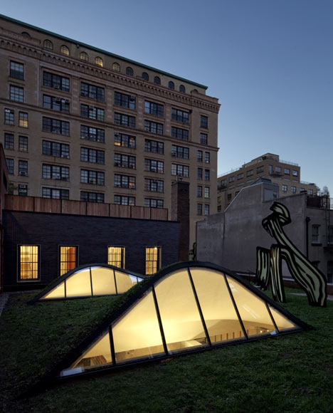 Roy Lichtenstein Residence and Studio by Caliper Studio