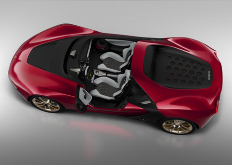 Sergio concept car by Pininfarina