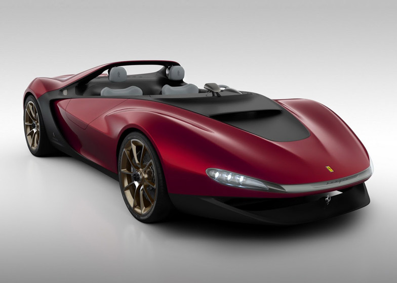 sergio windshield less concept car by pininfarinadezeen magazine
