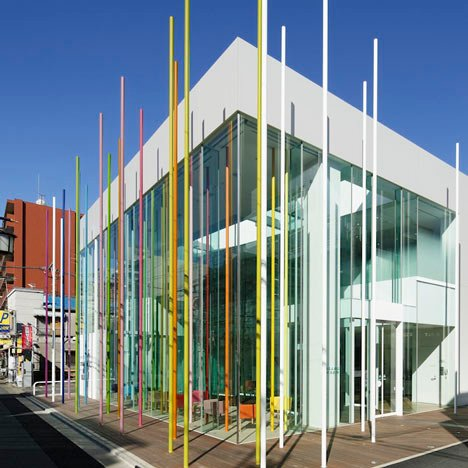 Sugamo Shinkin Bank, Ekoda by Emmanuelle Moureaux