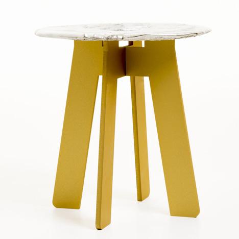 Tables by Katrin Olina and Garðar Eyjólfsson