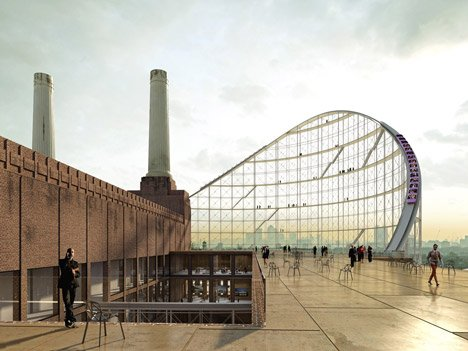 The Architectural Ride at Battersea Power Station