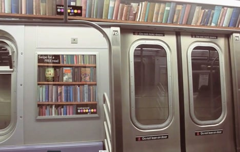 The Underground Library by Keri Tan, Max Pilway and Ferdi Rodriguez
