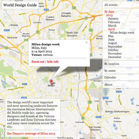 World Design Guide update: April 2013