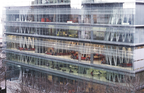 Pritzker Prize 2013 winner Toyo Ito: Sendai Mediatheque, 1995—2000, Sendai-shi, Miyagi, Japan. Photo by Tomio Ohashi.